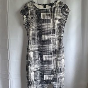Black/White interview style dress